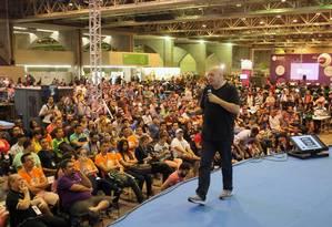 Dado Schneider participou de evento em Pernambuco em 2015 Foto: Hans Von Manteuffel / Agência O Globo