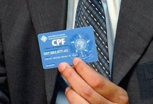 CPF Foto: Hipólito Pereira / Hipólito Pereira