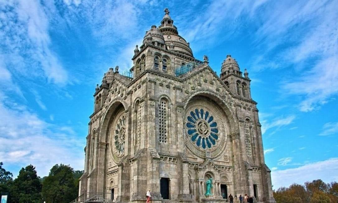 Em Viana do Castelo, a beleza da Catedral de Santa Luzia Foto: Rosiane Torres/Acervo Pessoal