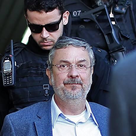 O ex-ministro Antônio Palocci, preso em Curitiba, ganhou o apelido de