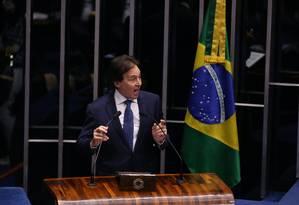Eunício Oliveira (PMDB-CE) Foto: Ailton de Freitas / Agência O Globo