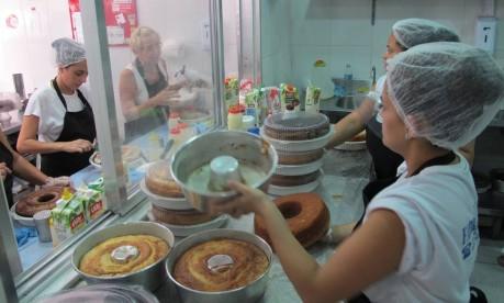Fábrica de Bolo, na Tijuca: franquia tem 200 lojas no Brasil Foto: Priscila Belmonte/23-11-2012