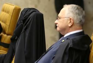 O ministro do STF Edson Fachin Foto: Jorge William / Agência O Globo