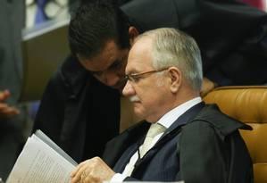 O ministro do STF Edson Fachin Foto: André Coelho / Agência O Globo 01/12/2016