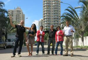 Expositores reunidos no local onde será realizado o evento Foto: Rodrigo Berthone / Agência O Globo
