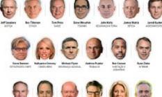 Gabinete de Trump Foto: O Globo