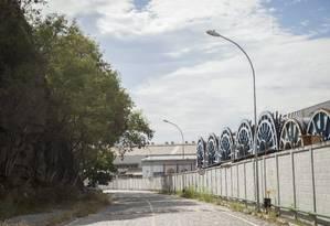 Menos um. Fechado em julho do ano passado, o Estaleiro Vard empregava 300 pessoas da indústria naval Foto: Agência O Globo