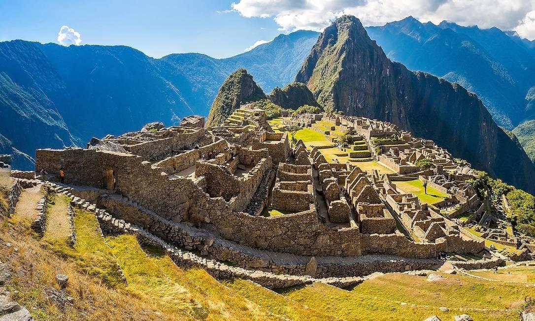 As ruínas incas de Machu Picchu formam um dos mais belos e impressionantes cenários do Peru. Um fim de semana em Cusco, ponto de partida para o local, custa R$ 2.456 Foto: vitmark - Fotolia