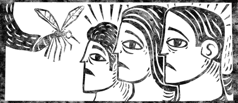 Ilustração por André Mello Foto: Editoria de Arte