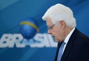 O ministro da Secretaria-Geral da Presidência, Moreira Franco Foto: ANDRESSA ANHOLETE / AFP