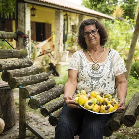 Noêmia Magalhaes diz não ter felicidade com a prisão do Eike, mas um sentimento de justiça Foto: Fernando Lemos / Agência O Globo
