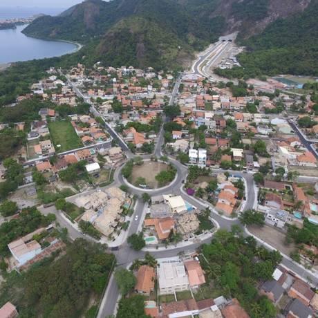Loteamento da Fazendinha depois da pavimentação Foto: divulgação/prefeitura de niter