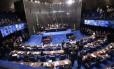 Senado Federal. Foto de Ailton de Freitas /Agência O Globo