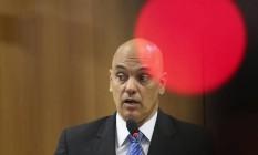 O ministro da Justiça Alexandre de Moraes 21/07/16 Foto: André Coelho/ O Globo