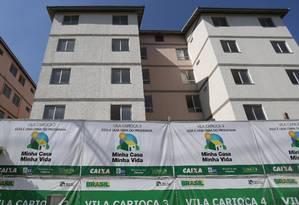 """Condomínio do """"Minha Casa Minha Vida"""", no Anil, em Jacarepaguá Foto: Márcio Alves / Agência O Globo"""