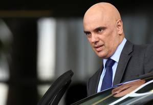 O ministro da Justiça, Alexandre de Moraes, é indicado para assumir a vaga deixada por Teori Zavascki no Supremo Tribunal Federal Foto: ADRIANO MACHADO / REUTERS