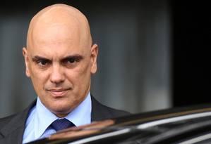 O ministro da Justiça, Alexandre de Moraes: indicado por Michel Temer ao Supremo Tribunal Federal Foto: Adriano Machado / Reuters / 6-2-2017