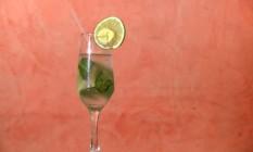 Drinque vitalidade: a receita é da chef Mila Cozzi Foto: Raphael Andreozzi / Agência O Globo