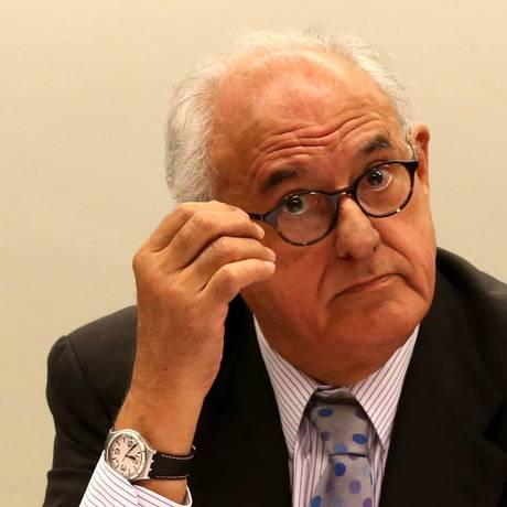 O ex-presidente do STF e ex-ministro da Justiça Nelson Jobim Foto: Ailton de Freitas / Agência O Globo 23/04/2015