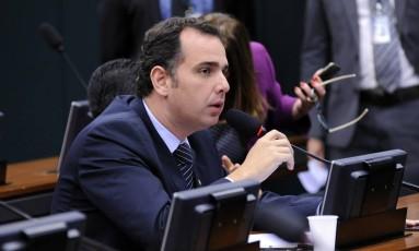Pacheco foi eleito por unanimidade: 41 votos a favor, nenhum contra Foto: Lucio Bernardo Jr. / Agência Câmara