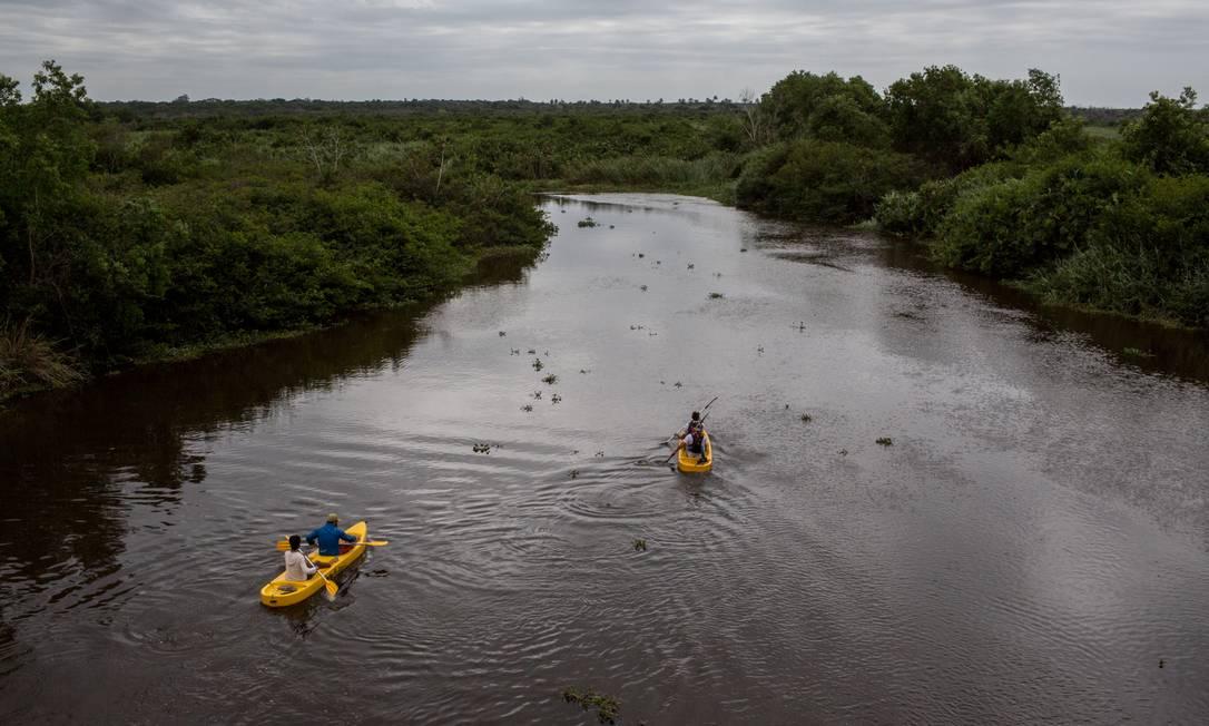 Miramundos navega pelo rio Itaunas em trecho capixaba da Região dos Abrolhos Flavio Forner/Miramundos / Flavio Forner/Miramundos