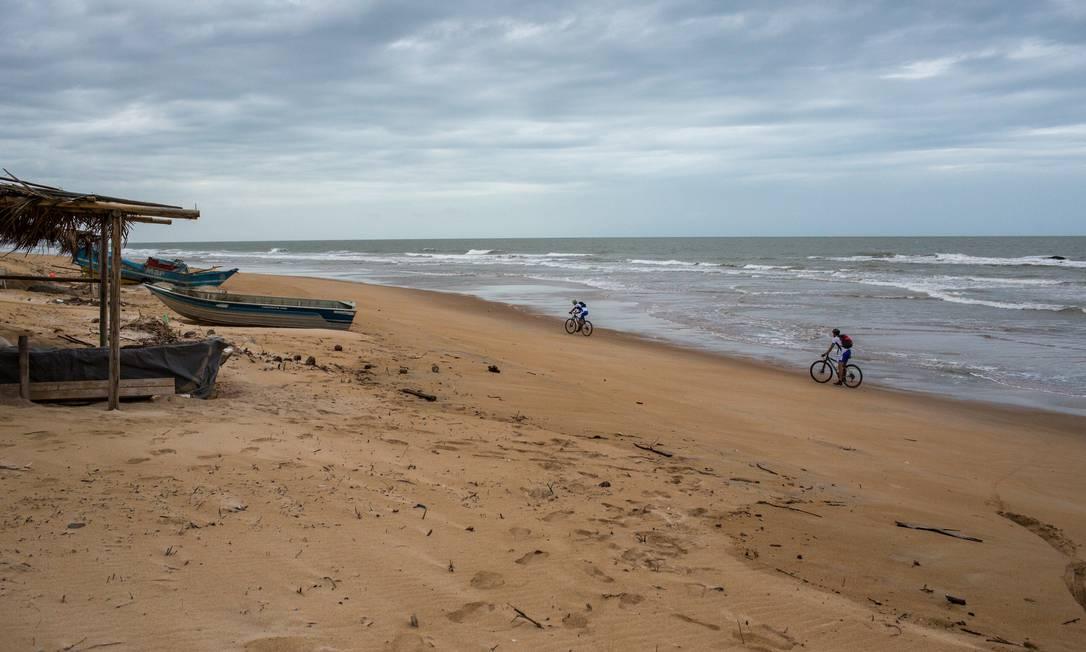 Praia de Itaúnas, no Espírito Santo Flavio Forner/Miramundos / Flavio Forner/Miramundos