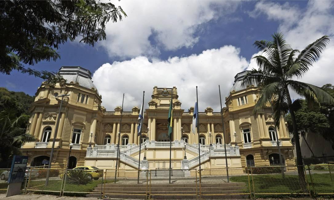 Palácio Guanabara: Pezão se reúne com cúpula da Segurança Foto: Gabriel de Paiva / Agência O Globo
