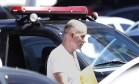 Eike Batista deixa a Policia Federal Foto: Antonio Scorza / O Globo