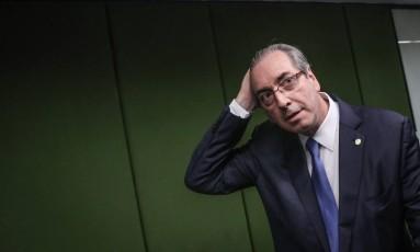 O ex-deputado Eduardo Cunha Foto: André Coelho / Agência O Globo