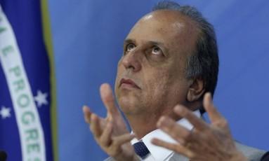 O governador do Rio, Luiz Fernando Pezão Foto: Ailton Freitas - 26/01/2017 / Agência O Globo