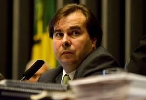 O presidente da Câmara dos Deputas, Rodrigo Maia (DEM,RJ) Foto: Terceiro / Agência O Globo