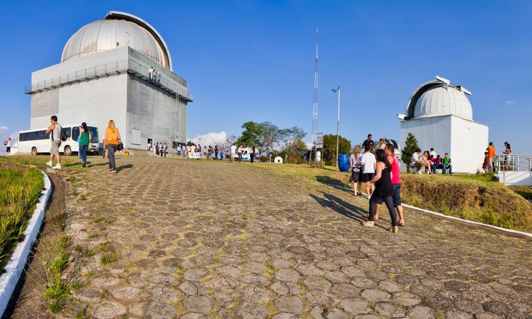 O Observatório do Pico dos Dias, em Brazópolis (MG), é operado pelo Laboratório Nacional de Astronomia e é um dos melhores lugares do Brasil para observar o céu. Foto: Clemens Darvin Gneiding / LNA/Divulgação
