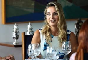 A primeira-dama, Marcela Temer, recebe as primeiras damas dos estados para apresentar o programa Criança Feliz Foto: Jorge William / Agência O Globo