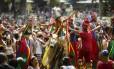 Desfile da Terreirada Cearense, na Quinta da Boa Vista Foto: Fernando Lemos / Agência O Globo