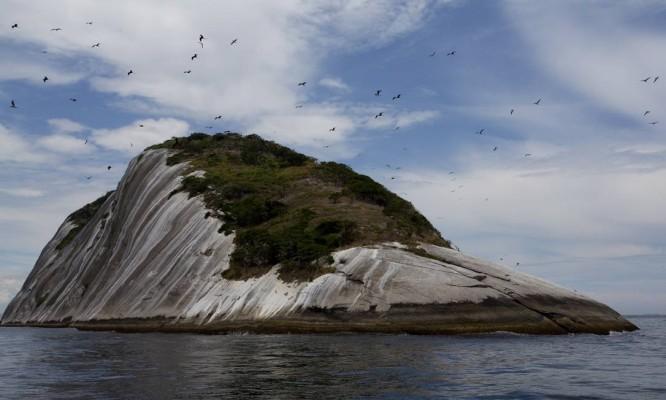 A Ilha das Cagarras Foto: O Globo