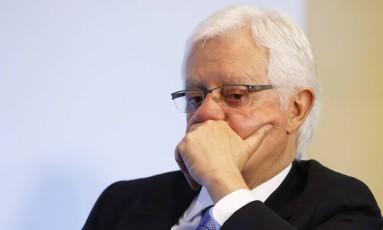 O ministro Moreira Franco: nomeação para ministério foi suspensa por decisões liminares Foto: Jorge William / Agência O Globo / 8-11-2016