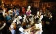 Reunião de mulheres dos policiais e de representantes do governo terminou sem acordo