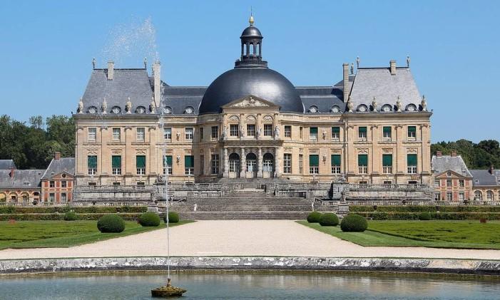 O Château de Vaux-le-Vicomte, a 50km de Paris, na França Foto: Jean-Pol Grandmont / Creative Commons/Reprodução