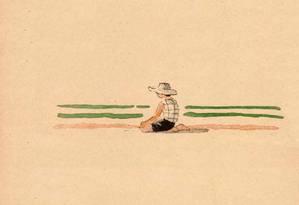 Ilustração original de 'Les histoires de Patachou', feita por André Hellé Foto: André Hellé / Reprodução