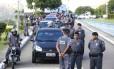 O acordo assinado entre o governo do Espírito Santo e entidades de classe de policiais, na noite de sexta-feira, não obteve adesão dos policiais na manhã deste sábado