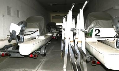 Catamarãs e cavaletes Foto: Divulgação