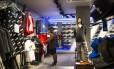 Loja da Adidas na Zona do Sul do Rio: o Brasil foi o único mercado emergente em que as receitas da marca encolheram no ano passado