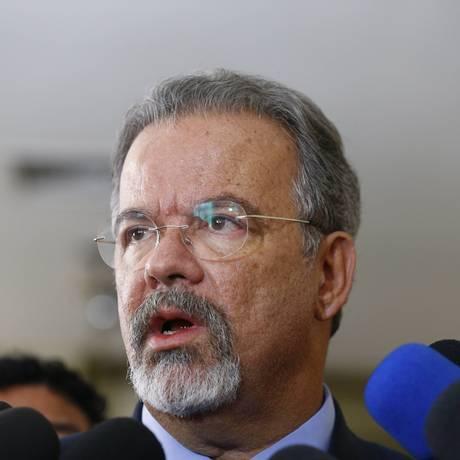 O ministro de Defesa, Raul Jungmann, durante visita ao Espírito Santo Foto: Pablo Jacob / Agência O Globo / 11-2-2017