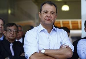 O ex-governador Sérgio Cabral Foto: Pablo Jacob / Agência O Globo / 17-7-2013