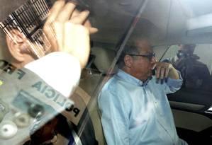 O ex-presidente do TCE do Rio, Jonas Lopes de Carvalho Foto: Domingos Peixoto / Agência O Globo / 13-12-2016