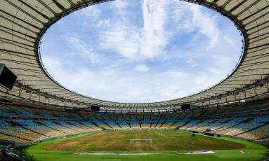 Maracanã. Estádio, que vive dias de abandono desde o fim da Paralimpíada, em setembro de 2016. Foto: Parceiro / Marcelo D. Sants/FramePhoto/2-2-2017