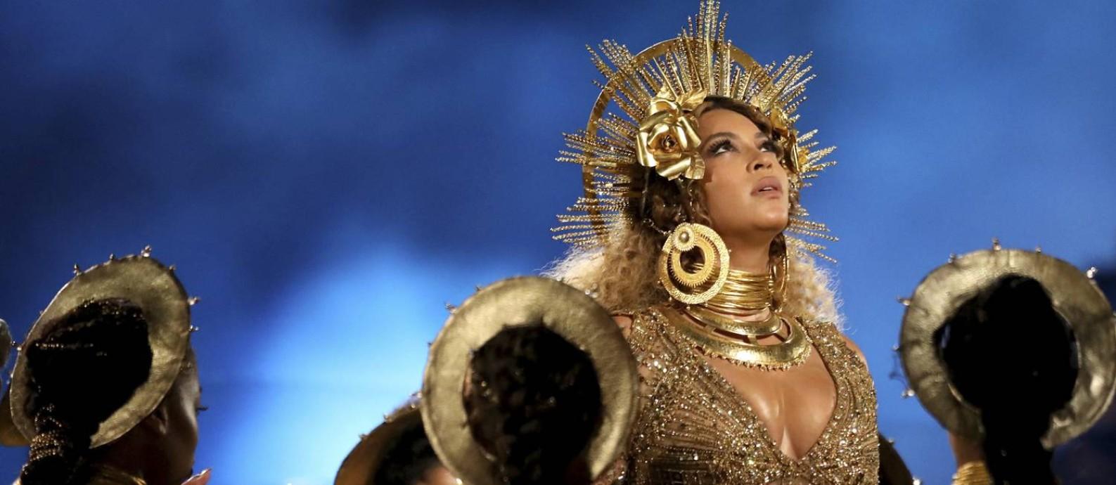 Beyoncé no Grammy 2017 Foto: Matt Sayles / AP