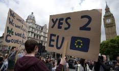 Brexit é uma das incertezas para o crescimento da União Européia Foto: AFP/Justin Tallis