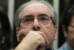O ex-deputado Eduardo Cunha, que teve pedido de liberdade negado pelo juiz Sérgio Moro Foto: Aílton de Freitas / Agência O globo