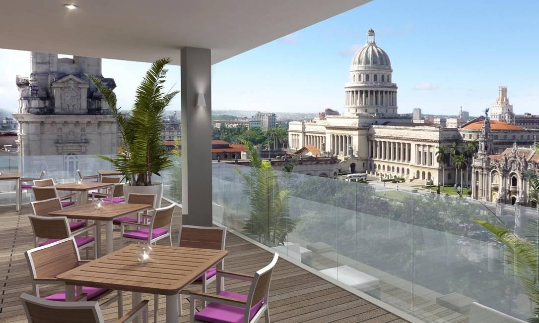 O Capitólio cubano e o Paseo del Prado são alguns dos marcos de Habana Vieja que estão nos arredores do hotel. Foto: Kempinski Hotels / Divulgação